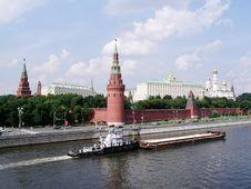 Free Moscow Kremlin Royalty Free Stock Image - 769196