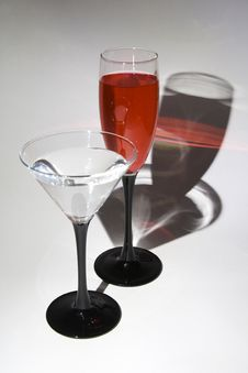 Free Two Glasses Stock Images - 769284