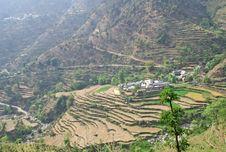 Free Mountain Village Near Chamba In  Himachal India Stock Photos - 769313