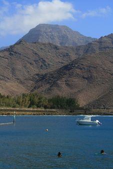 Free Bathing In Gran Canaria Island Royalty Free Stock Photos - 7601538