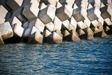 Free Breakwater Stock Photo - 7605950