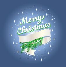Free Merry Christmas Royalty Free Stock Image - 76008936