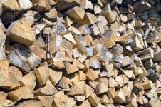 Free Firewood In Pile Royalty Free Stock Photo - 7618905