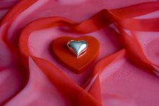 Free Shiny Shiny Heart On A Small Box As A Heart Royalty Free Stock Photography - 7635447