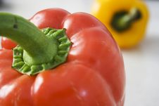 Free Red And Yellow Pepper Stock Images - 7641634