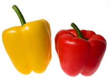 Free Two Peppers Stock Images - 7643364