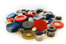 Heap Of The Buttons Royalty Free Stock Image