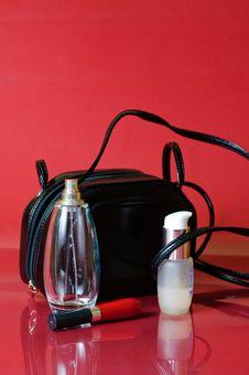 Free Cosmetics And Perfume Royalty Free Stock Photos - 7658928