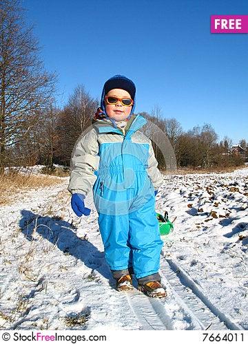 Free Little Boy Play Stock Image - 7664011