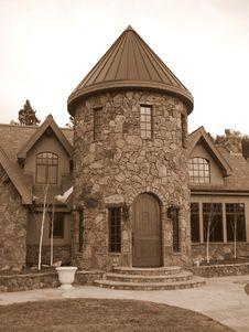 Free Modern Mansion Royalty Free Stock Image - 7666926