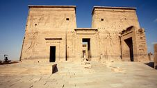 Free Temple In Egypt Royalty Free Stock Photos - 7666938