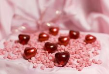 Free Valentin Hearts Stock Images - 7667134