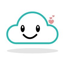 Free Happy Cloud Royalty Free Stock Image - 76713136