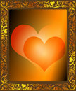 Free Framed Hearts Stock Images - 7682284