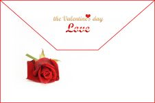 Free Love Letter For You Stock Photos - 7689533