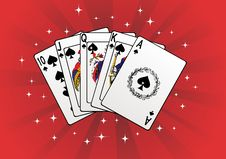 Free Game Cards Royalty Free Stock Images - 7690959