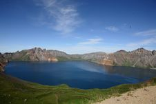 Free Changbai Moutain Tianchi Lake Royalty Free Stock Image - 76935476