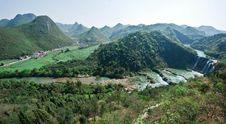 Free View Of Jiulong Waterfall ,Yunnan,1 Stock Photo - 76974120