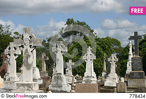 Free GRAVE CROSSES Stock Images - 778434