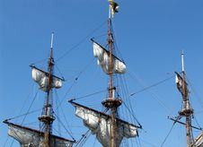 Free Silk Sails-03 Royalty Free Stock Images - 770169