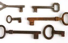 Free Keys Royalty Free Stock Photo - 770315