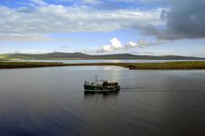 Free Boat Trip On A Loch Royalty Free Stock Images - 770589