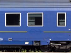 Free Blue Train Stock Photos - 771743