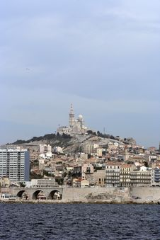 Free Marseille View Royalty Free Stock Photography - 771747