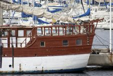 Frioul Boats Stock Images