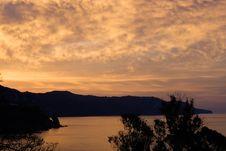 Free Sunrise Over The Spanish Coast Royalty Free Stock Photography - 771947