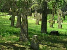 Free Cemetry Royalty Free Stock Image - 772666