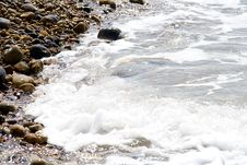 Free Tide Coming In Royalty Free Stock Photography - 773047
