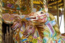 Free Merry-go-round Royalty Free Stock Photos - 773188