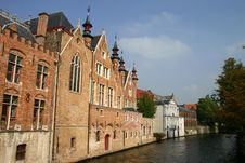 Free Buildings Along Canal Stock Photo - 773990