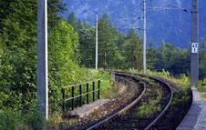 Free Railway Royalty Free Stock Photography - 773997