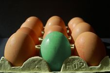 Free Abstract Egg In Green Royalty Free Stock Photo - 776705