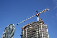Free Apartment Bulding Construction Royalty Free Stock Photo - 777105