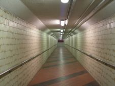 Free Underground Walkway Royalty Free Stock Images - 777169
