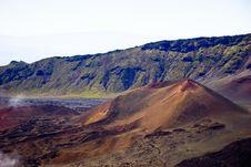 Free Haleakala Lava Landscape Royalty Free Stock Image - 777906