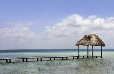 Free Tranquil Beauty At Lake Bacalar Stock Photo - 778140