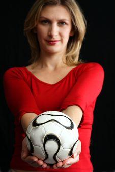 Free Soccer Ball Stock Photo - 778150