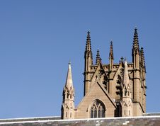 Free St. Mary S Cathedral, Sydney Royalty Free Stock Image - 778416