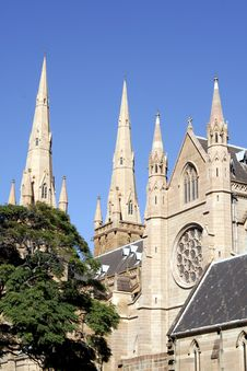 Free St. Mary S Cathedral, Sydney Royalty Free Stock Photos - 778428