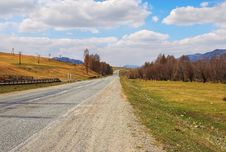 Free Road, Mountains And Skies. Royalty Free Stock Photography - 778457