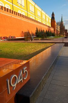 Free History Museum And Kremlin S Tower At Red Suare In Moscow. Royalty Free Stock Photos - 778478