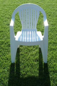 Free Chair On Grass Stock Photos - 778663