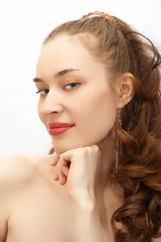 Free Young Beauty Girl Portrait Royalty Free Stock Photo - 779025