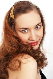 Free Young Beauty Girl Portrait Stock Photography - 779042