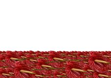 Red Anthurium River Royalty Free Stock Images