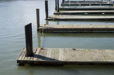 Free Empty Docks Stock Photography - 779102